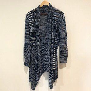 Blue Tie Jacket- Long